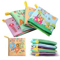 Stoff Buch, für Kinder & verschiedene Stile für Wahl & mit Brief Muster, 115x120mm, verkauft von PC