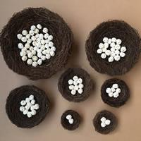 Schmuck Foto Requisiten, Rohrstock, Vogel-Nest, verschiedene Größen vorhanden, gemischte Farben, 10PCs/Tasche, verkauft von Tasche