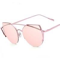 Art- und WeiseSonnenbrillen , PC Kunststoff, mit PC Kunststofflinse & Zinklegierung, plattiert, unisex & mit Bemaltung, keine, 147x51x152mm, verkauft von PC