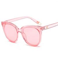 Art- und WeiseSonnenbrillen , PC Kunststoff, mit PC Kunststofflinse & Zinklegierung, goldfarben plattiert, unisex, keine, 146x55x140mm, verkauft von PC