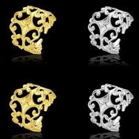 Moderne Ohr Manschette, Messing, plattiert, keine, frei von Blei & Kadmium, 16x19mm, verkauft von Paar