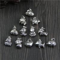 Bali Sterling Silber Anhänger, Thailand, Tier, verschiedene Stile für Wahl, Bohrung:ca. 2mm, verkauft von PC