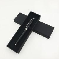 Papier mit Baumwollsamt, Rechteck, schwarz, 175x50x25mm, 50PCs/Menge, verkauft von Menge