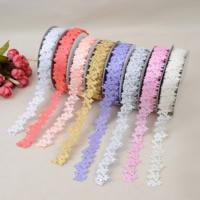 Terylen Band, Polyester, Blume, einzelseitig, keine, 25mm, 5PCs/Menge, 20WerftenHof/PC, verkauft von Menge