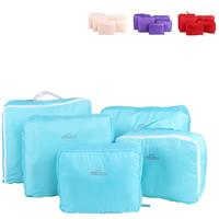 Reisetaschen, Polyester, mit Brief Muster, keine, 37x30x14cm-37x27x7cm, 5PCs/setzen, verkauft von setzen