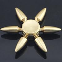 Finger Hand Spinner Gyroskop, Zinklegierung, goldfarben plattiert, abnehmbare, frei von Blei & Kadmium, 50-60cm, verkauft von PC