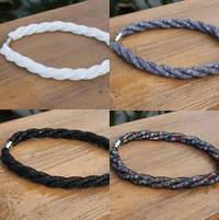 Mesh Stardust Halskette, Kunststoff Netz, mit Harz Strass, Zinklegierung Magnetverschluss, Platinfarbe platiniert, für Frau, keine, frei von Nickel, Blei & Kadmium, verkauft per ca. 18 ZollInch Strang