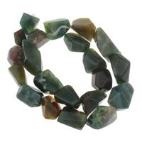 Natürliche Indian Achat Perlen, Indischer Achat, 20x9x14mm-24x13x11mm, Bohrung:ca. 1mm, ca. 23PCs/Strang, verkauft per ca. 14.5 ZollInch Strang