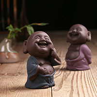 Tee Haustierdekoration, Porzellan, Buddha, verschiedene Stile für Wahl, verkauft von PC