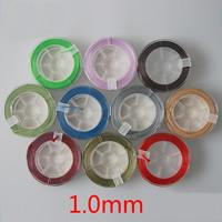 Gewachste Nylonschnur Schnur, mit Kunststoffspule, keine, 1mm, 15m/Spule, verkauft von Spule