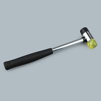 Kunststoff Schmuck Hammer, mit Edelstahl, originale Farbe, 254x62mm, verkauft von PC