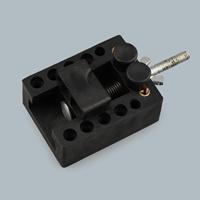 Kunststoff Hand-Locher, mit Eisen, schwarz, frei von Nickel, Blei & Kadmium, 65x35x35mm, verkauft von PC