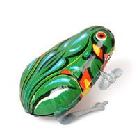 Wind-Up Toys, Eisen, Frosch, für Kinder, 40x50x70mm, verkauft von PC