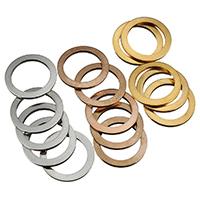 Edelstahl Verbindungsring, Kreisring, plattiert, keine, 15x1mm, 200PCs/Menge, verkauft von Menge