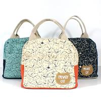 Moderne Handtasche, Segeltuch, mit Brief Muster, keine, 220x120x200mm, verkauft von PC