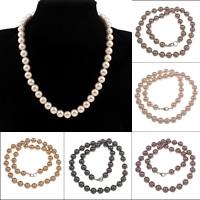 Südsee Muschel Halskette, rund, verschiedene Größen vorhanden & für Frau, keine, verkauft per ca. 18 ZollInch Strang