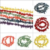 Natürliche Korallen Perlen, keine, 4x7mm-6x18mm, Bohrung:ca. 1mm, ca. 110PCs/Strang, verkauft per ca. 15.5 ZollInch Strang