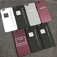 Kundenindividuelle Handyhülle, PC Kunststoff, Rechteck, verschiedene Stile für Wahl & verschiedene Muster für Wahl & satiniert, verkauft von PC