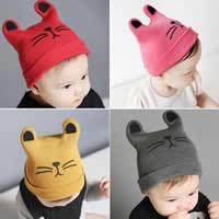 Kinderhüte, Wolle, Katze, elastisch & für Kinder, keine, 150mm, 180mm, verkauft von PC