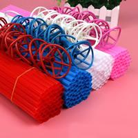 Kunststoff gemischte Farben, 40cm, 100PCs/setzen, verkauft von setzen