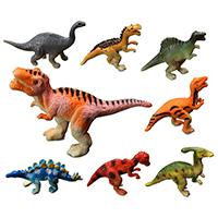 Kunststoff Simulation Tier Spielzeug, 20-65x20-65mm, 12PC/Tasche, verkauft von Tasche