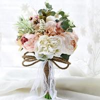 Stoff Kunstblume, Hochzeitsgeschenk, 100x100mm, verkauft von PC