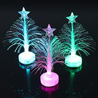 Acryl Weihnachtsbaum, mit einem Muster von Stern & Weihnachtsschmuck & LED, 120x60x60mm, verkauft von PC