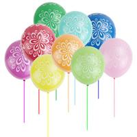 Ballone, LatexMilchsaft, gemischte Farben, 12lnch, ca. 100PCs/Tasche, verkauft von Tasche