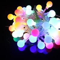 Kunststoff LED-Weihnachtslicht, unterschiedliche Länge der Wahl & Weihnachtsschmuck, keine, verkauft von Strang