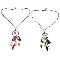Sweater Türkis Halskette, PU Leder, mit Synthetische Türkis & Zinklegierung, goldfarben plattiert, Bohemian-Stil & für Frau, keine, frei von Nickel, Blei & Kadmium, 170mm, verkauft per ca. 33.8 ZollInch Strang