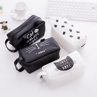 Fashion Pen Tasche, Weich-PVC, Rechteck, gemischtes Muster, 65x170mm, 5PCs/Menge, verkauft von Menge