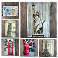 Zinn-Malerei, Eisen, Rechteck, Bauplanung & verschiedene Muster für Wahl, keine, 200x300mm, verkauft von PC