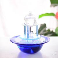 Glas Dekoration, verschiedene Stile für Wahl & LED, 250x250x255mm, verkauft von PC