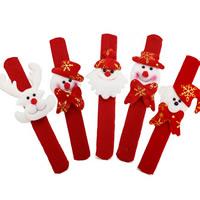 Weihnachtsarmband, Nichtgewebte Stoffe, Weihnachtsschmuck, 30mm, Länge:ca. 8.6 ZollInch, verkauft von PC