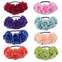 Braut Haar Blumen, Stoff, für Braut & für Frau, keine, 100-240mm, verkauft von PC