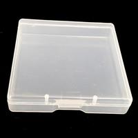 Schmuck Nagelkasten, Kunststoff, Rechteck, 70x70x15mm, verkauft von Box