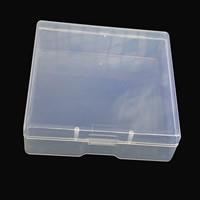 Schmuck Nagelkasten, Kunststoff, Rechteck, 80x80x25mm, verkauft von Box