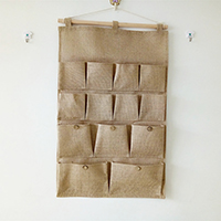 Lager Angebote, Baumwollgewebe, mit Hanfgarn & Holz, mehrschichtig & wasserdicht, 450x730mm, verkauft von PC