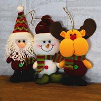 Baumwollsamt Weihnachtsschmuck & verschiedene Stile für Wahl, 80x170mm, verkauft von PC