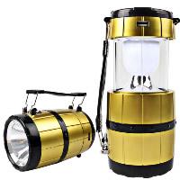 Tragbare Taschenlampe, ABS Kunststoff, mit Glas & Edelstahl, Solar angetrieben & LED, 83x190mm, 83x131mm, verkauft von PC