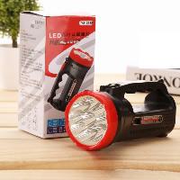 Tragbare Taschenlampe, Kunststoff, verschiedene Stile für Wahl & LED, 75x160mm, verkauft von PC