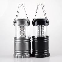 Tragbare Taschenlampe, Kunststoff, mit Glas & Edelstahl, plattiert, Einbrenn-Lack & abklappbar & LED, 87x122mm, 181mm, verkauft von PC