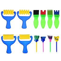 Kunststoff mit Schwamm, für Kinder, 85-100mm, 12PCs/setzen, verkauft von setzen