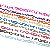 Mode Schnur Schmuck, elastischer Faden, keine, 6x12mm, 9x15mm, 10SträngeStrang/Tasche, 1WerftenHof/Strang, verkauft von Tasche
