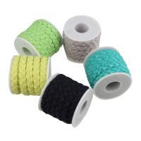 Seiltuchschnur, Stoff, mit Kunststoffspule, keine, 11x3.5mm, 5m/Spule, verkauft von Spule