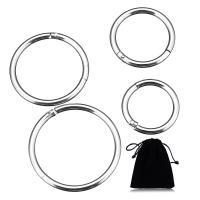 Edelstahl Nasepiercing Schmuck, plattiert, unisex & verschiedene Größen vorhanden, verkauft von PC