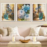 Dekoratives Bild, Holz, Rechteck, verschiedene Größen vorhanden & verschiedene Muster für Wahl & mit Blumenmuster, keine, verkauft von PC