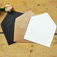 Kraftpapier Umschlag, gemischte Farben, 105x67mm, 10PCs/PC, verkauft von PC