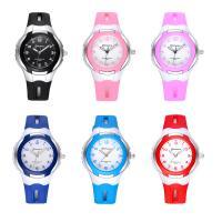 MINGRUI® Uhr, Kunststoff, mit Glas & Edelstahl, plattiert, für Kinder & LED, keine, 36x13mm, Länge:ca. 7.6 ZollInch, verkauft von PC