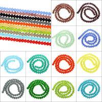 Kristall-Perlen, Kristall, gemischte Farben, Bohrung:ca. 1mm, Länge:ca. 15 ZollInch, 10SträngeStrang/Tasche, verkauft von Tasche
